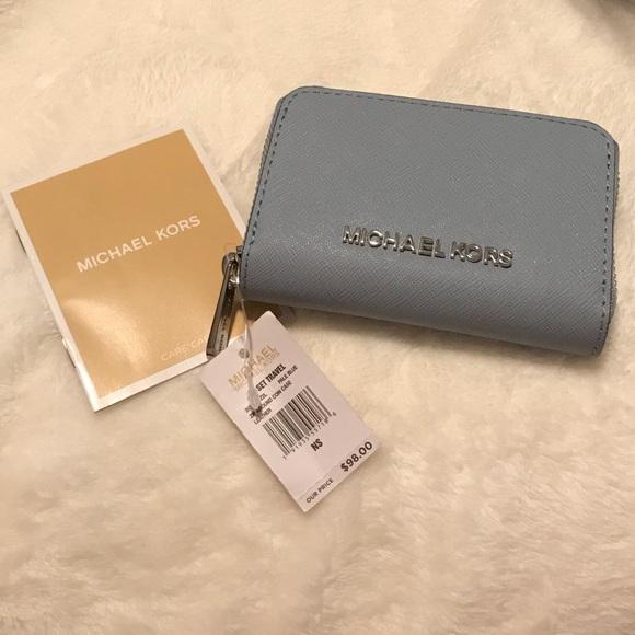 04d22ca226fd Michael Kors Bags | Nwt Jet Set Travel Small Wallet | Poshmark